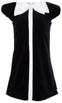 David Charles Black Velvet Dress