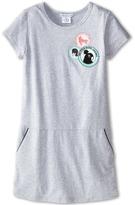 Little Marc Jacobs Fleece Dress with Pockets and Bandana (Little Kid/Big Kid)