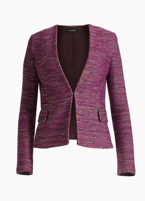 St. John Ombre Ribbon Tweed Jacket
