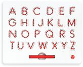 Kid o Kid-O A to Z Magnatab in Red (Upper Case)
