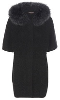 Loro Piana Halifax Knitted Cashmere Jacket With Fur