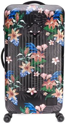 Herschel Floral Print Trolley Suitcase