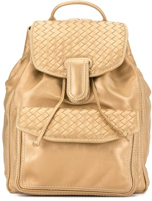 Bottega Veneta Pre-Owned Intrecciato Weave Backpack