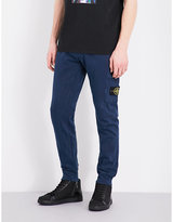 Stone Island Badge Cotton Jogging Bottoms
