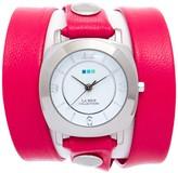 La Mer Women's Tulip Pink Silver Odyssey Watch