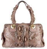 Chloé Python Heloise Bag