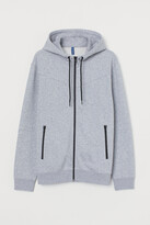 H&M Hooded Stand-up-collar Jacket