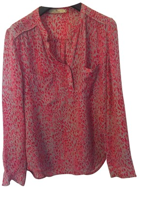 Charlotte Sparre Pink Silk Top for Women