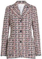 Sonia Rykiel Tweed Blazer with Cotton and Silk