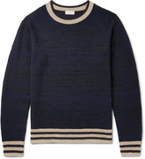 Dries Van Noten Jacquard-Knit Cashmere-Blend Sweater