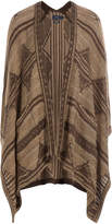Polo Ralph Lauren Cape Cardigan with Silk, Cotton and Linen