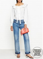 Marc Jacobs Button Front Ruffle Blouse
