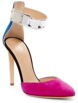 Giuseppe Zanotti Multicolor Ankle Strap Pump