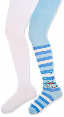 Playshoes Girl's Auto und Unifarben mit Komfortbund Tights