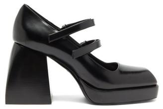 Nodaleto Bulla Babies Platform High-heel Mary-jane Sandals - Black