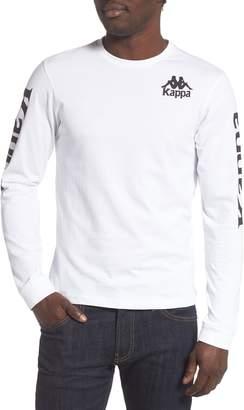 Kappa Active Long Sleeve Graphic T-Shirt