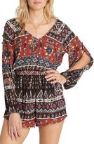 Billabong Women's Isles Of The Heart Print Romper