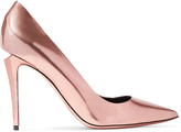 Alexander Wang Tia metallic leather pumps