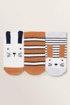 Seed Heritage 3 Pack Bunny Socks