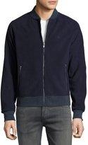 Original Penguin Long-Sleeve Polar Fleece Jacket, Dark Blue