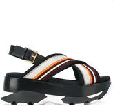 Marni 'Sams' sandals - women - Cotton/Nylon/rubber - 35