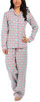Malabar Bay Aqua Chelsea Organic Cotton Pajama Set