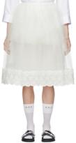 Simone Rocha Off-White Tutu Skirt