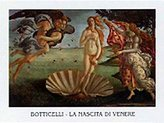 Sandro 1art1 Posters Botticelli Poster Art Print - Nascita Di Venere (28 x 20 inches)