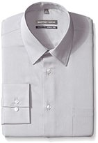 Geoffrey Beene Men's Regular Fit Textured Stripe Sateen Shirt