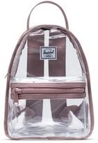 Herschel Mini Nova Clear Backpack Ash Rose