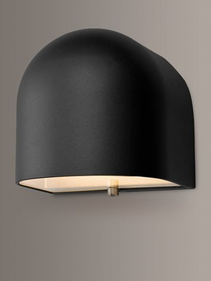 Dar Egham LED Outdoor Wall Light, Matt Black