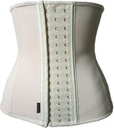OCCUPY Women's Latex Steel Boned Underbust Corset Tummy Slimming Waist Cincher 3XL
