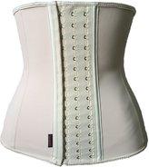OCCUPY Women's Latex Waist Trainer 9 Steel Boned Corset Shapewear Waist Cincher