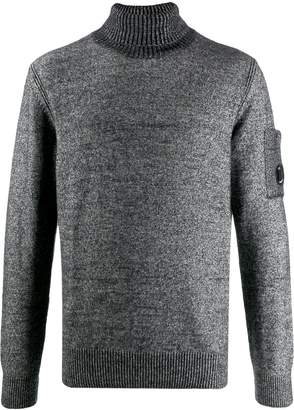 C.P. Company ribbed turtleneck sweater