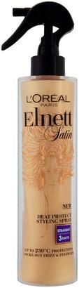 L'Oreal Elnett Satin Heat Protect Spray - Straight (170ml)