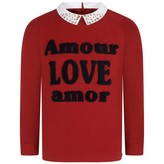Ikks IKKSGirls Red Love Sweater
