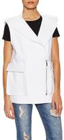 Thomas Wylde Primrose Cotton Asymmetrical Vest