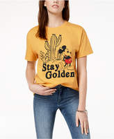 Mighty Fine Juniors' Cotton Mickey Mouse Graphic T-Shirt