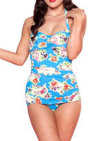 Bettie Page Tropical Sunbathers Suit