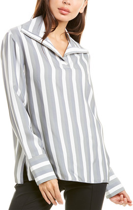 Piazza Sempione High-Low Blouse