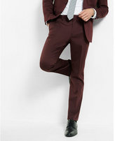 Express skinny innovator cotton sateen suit pant