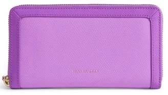 Vera Bradley Leather Lilac Wallet
