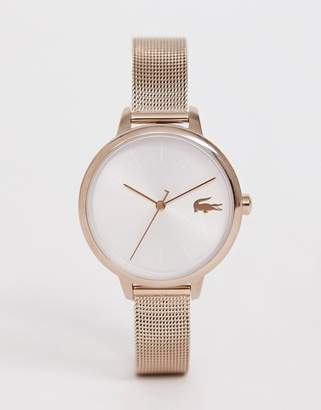 Lacoste Cannes mesh watch-Gold