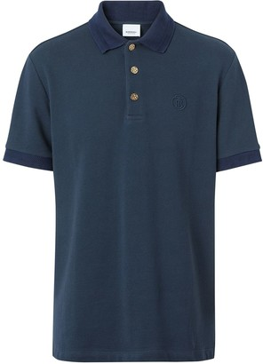 Burberry Button-Detail Polo Shirt