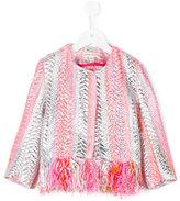 Anne Kurris - Raf jacket - kids - Cotton/Polyamide/Polyester/Polyacrylic - 6 yrs