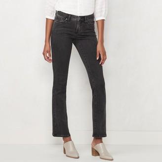 Lauren Conrad Petite Barely Bootcut Jeans