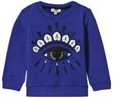 Kenzo Royal Blue Eye Embroidered Sweatshirt