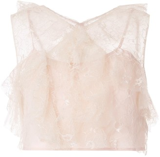 Alice McCall Floyd ruffled sleeveless top