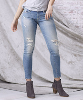 Grunge Florence Skinny Ankle Jeans
