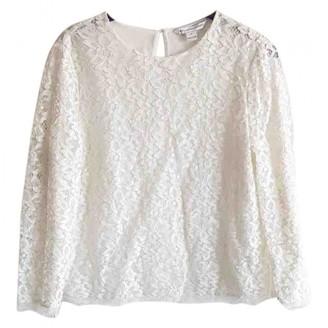 Diane von Furstenberg White Lace Tops